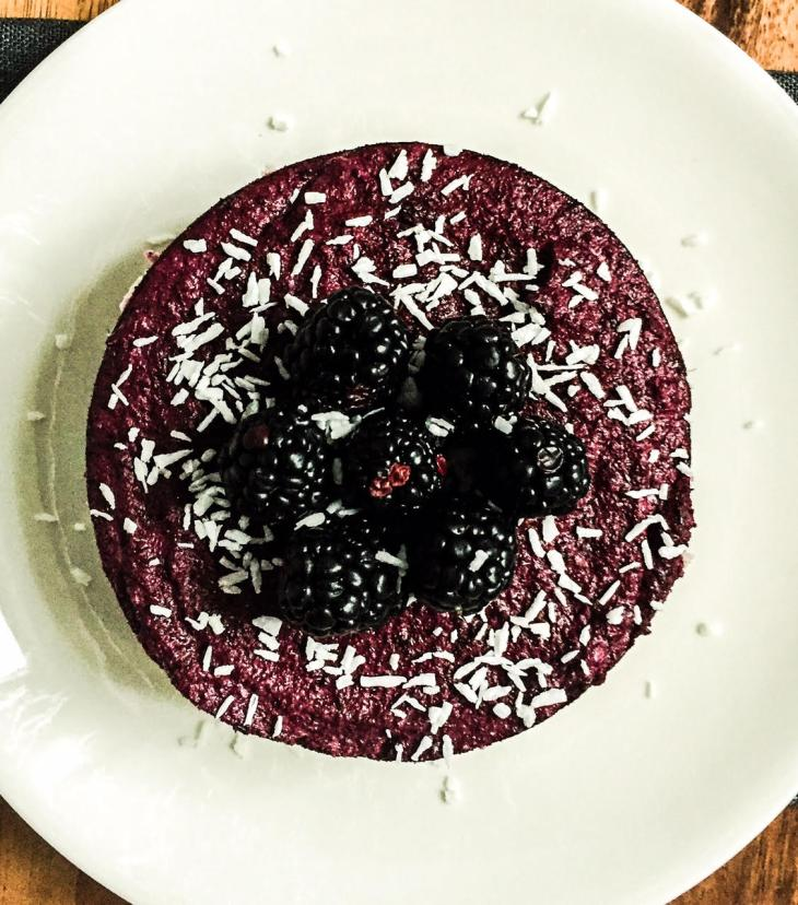 acai blueberry raw cake